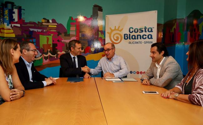 Costa Blanca trabajará con Hosbec en la promoción de la provincia