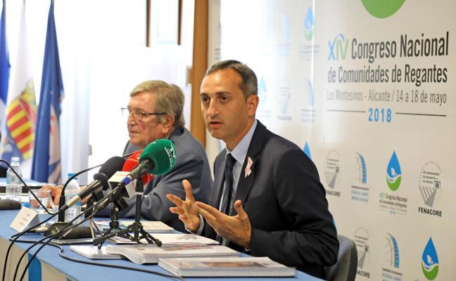 César Sánchez reivindica un Plan Nacional de Infraestructuras de Agua