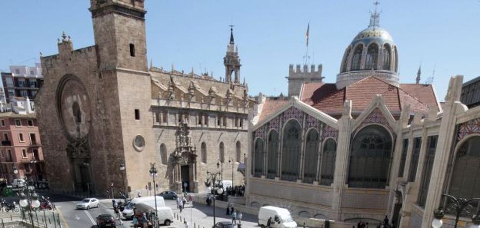 El parking de la plaza Ciudad de Brujas de Valencia funcionará antes de 2019