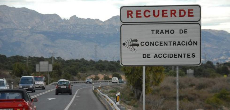 Los 16 puntos negros de las carreteras valencianas se cobran 415 víctimas en cinco años
