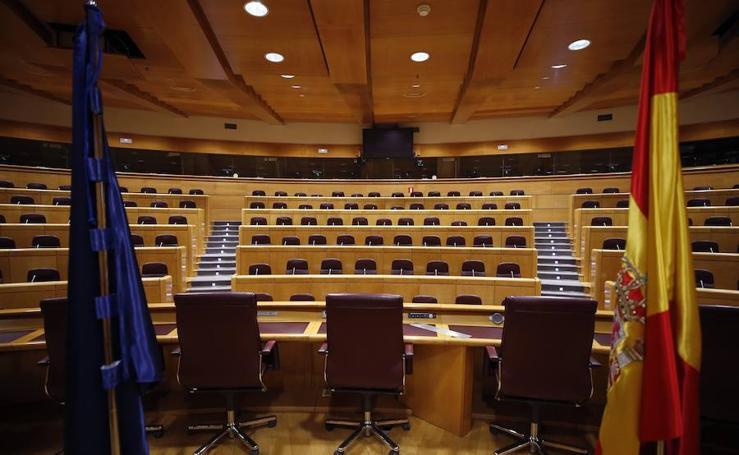 Estos son los 27 senadores que comandarán de la comisión del 155