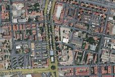 Un peatón es atropellado en la avenida Tres Cruces de Valencia