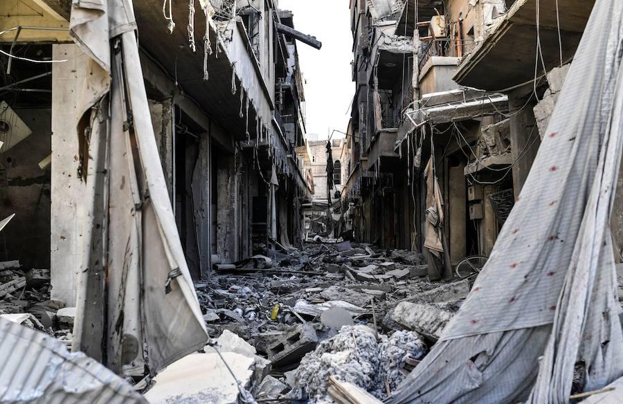 Fotos de las ruinas de Al Raqa