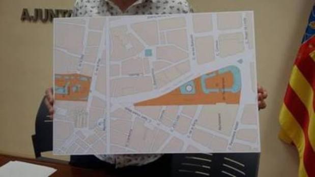 Grezzi anuncia que la mayor parte de la plaza del Ayuntamiento será peatonal a partir de abril de 2018