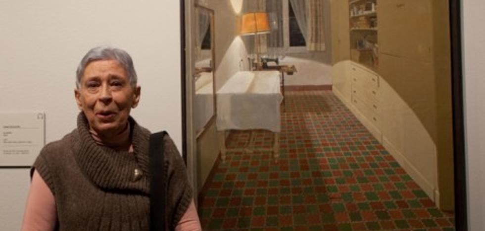 Muere a los 79 años la pintora Isabel Quintanilla