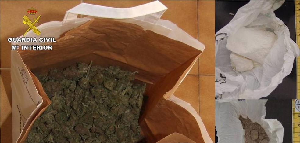 La Guardia Civil desarticula en Pego un punto de venta de droga