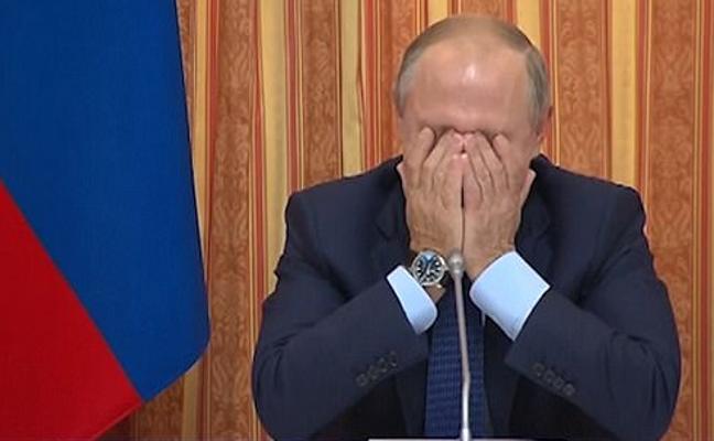 El ataque de risa de Putin que se ha convertido en viral