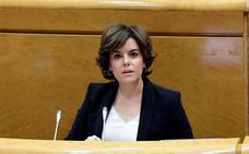 Santamaría defiende la obligación del Gobierno de aplicar el 155