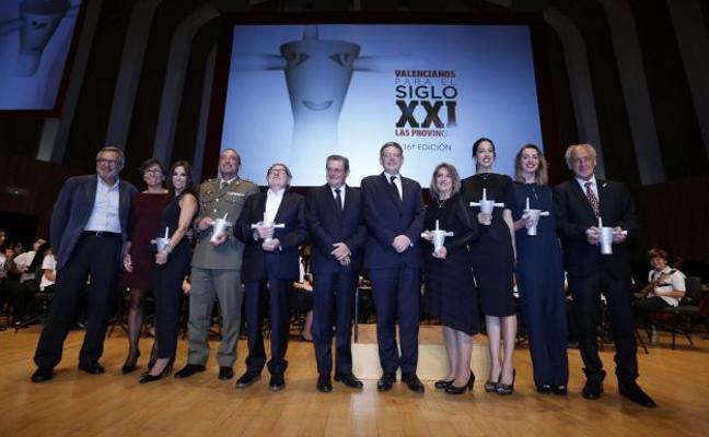 Así fue la entrega de los premios Valencianos para el Siglo XXI de 2016