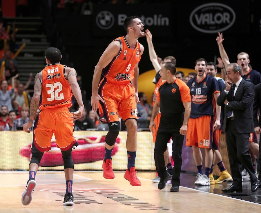 Fotos del Valencia Basket-Unicaja (91-53)