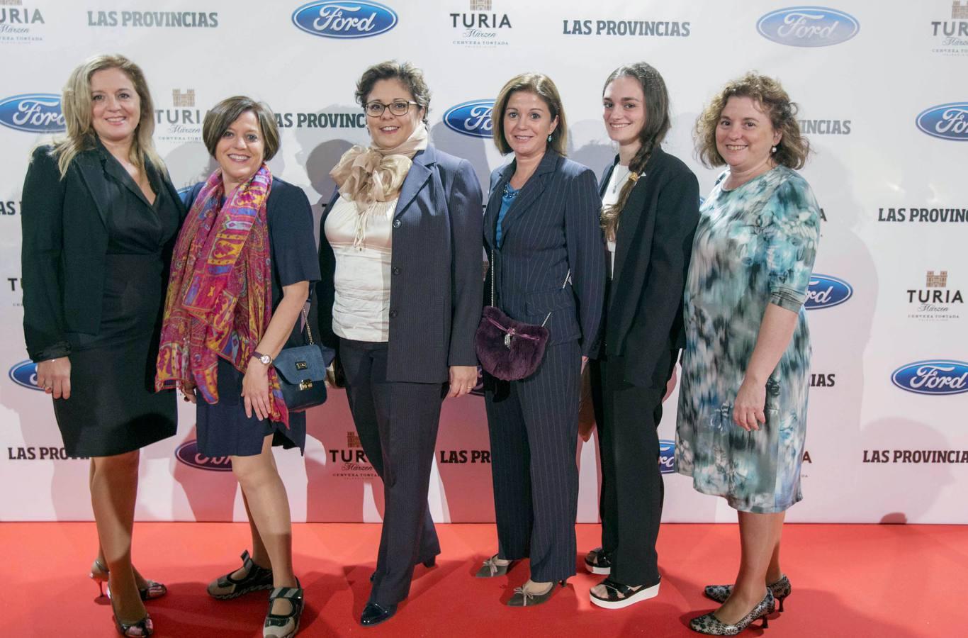Fotos de todos los representantes de la sociedad valenciana