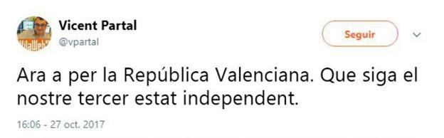 UN PORTAL INDEPENDENTISTA SUBVENCIONADO POR EL GOBIERNO VALENCIANO PIDE LA INDEPENDENCIA DE VALENCIA