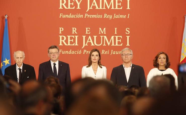 Fotos de la entrega de los Premios Jaime I 2017 en Valencia