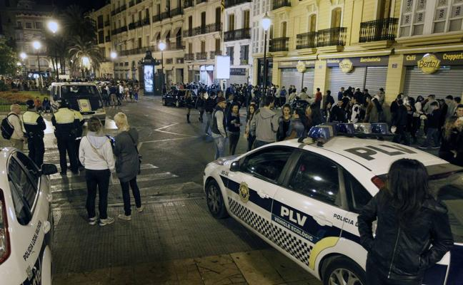 La Policía Local de Valencia vigilará con 170 agentes la fiesta de Halloween