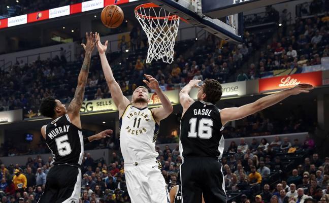 Un gran Pau Gasol no evita la derrota de los Spurs