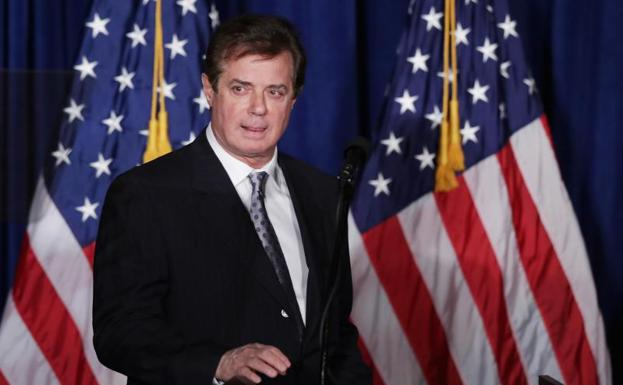 Paul Manafort. /Afp