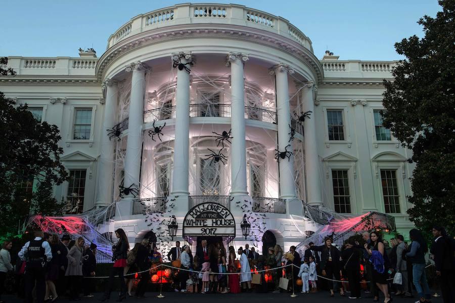Fotos de la celebración de Halloween en La Casa Blanca