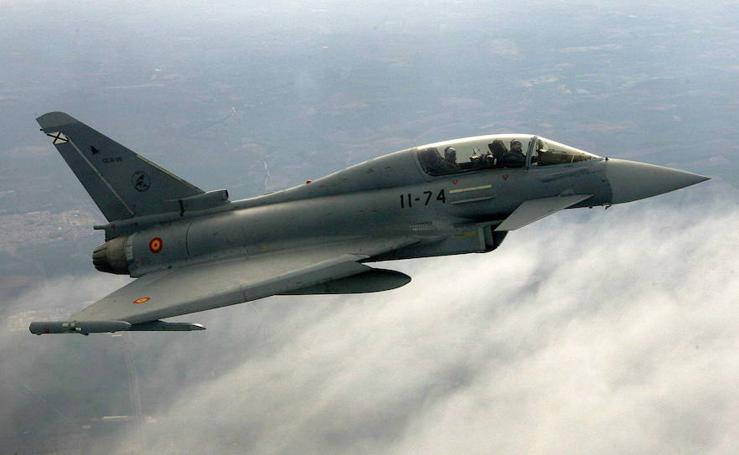 Fotos de los Eurofighters, las joyas del ejército español