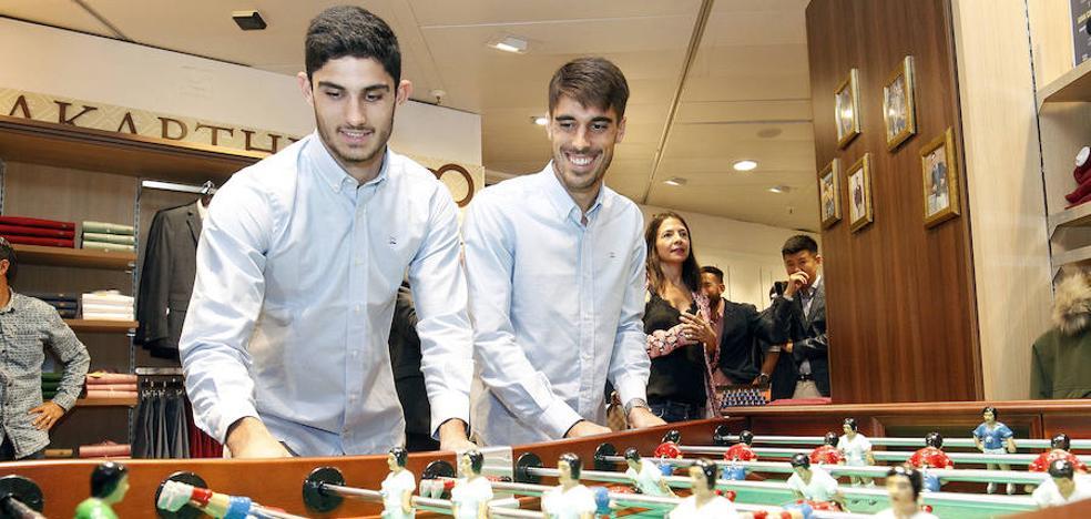 Guedes: «Me gustaría quedarme aquí en el Valencia»