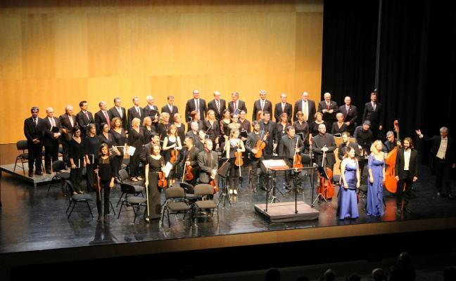 Magnífica velada de música barroca en el Auditori Teulada Moraira