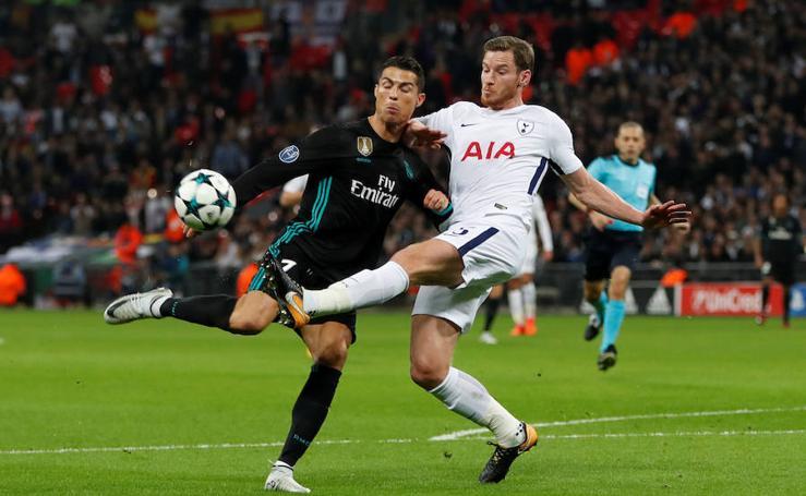 Las mejores imágenes del Tottenham-Real Madrid