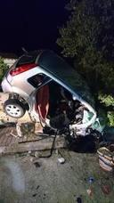 Dos personas fallecen al chocar de frente con otro vehículo en Gandia