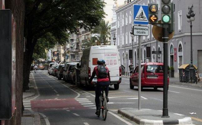 Crecen los accidentes con ciclistas en Valencia