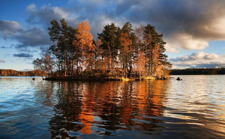 Fotos del otoño en Finlandia