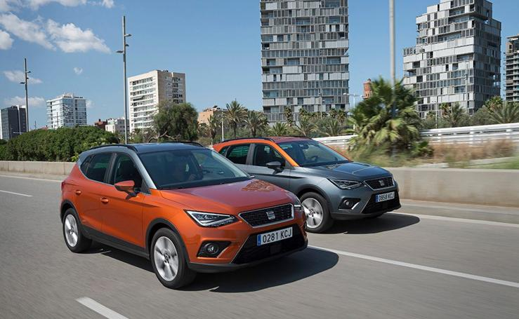 Seat Arona, las fotos del nuevo SUV urbano