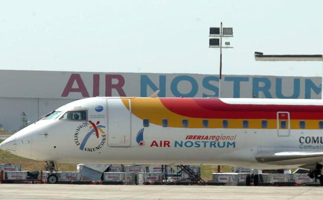 Air Nostrum recibe tres millones del Consell por adjudicación directa