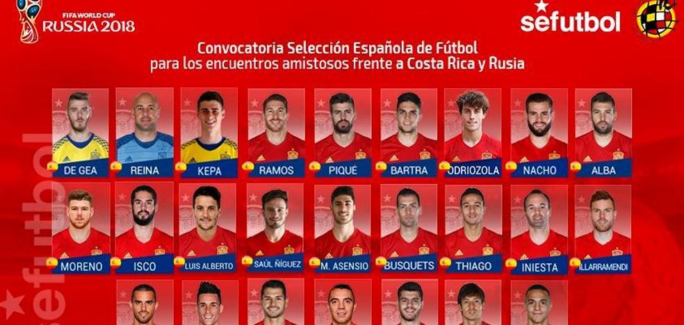 Rodrigo va a la selección, Parejo y Carlos Soler tendrán que esperar
