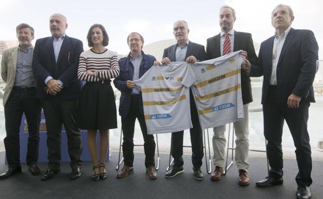 Una camiseta con magia para el Maratón de Valencia
