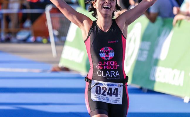 Clara encuentra en la carrera a pie su mejor medicina