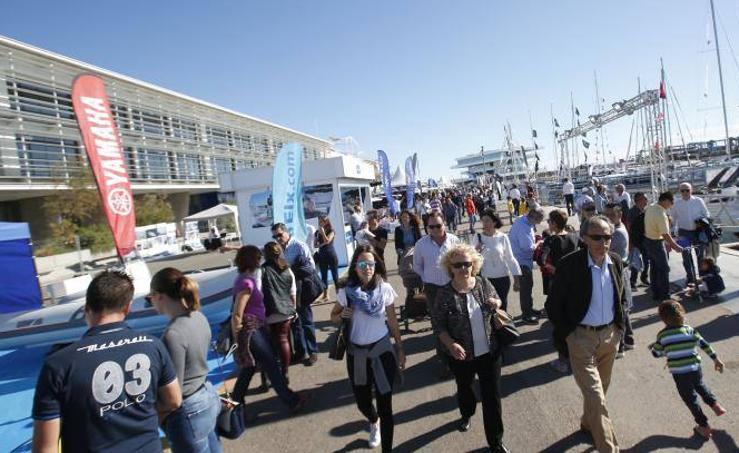 Fotos de Valencia Boat Show, que exhibe una flota de 150 embarcaciones de más de 12 países