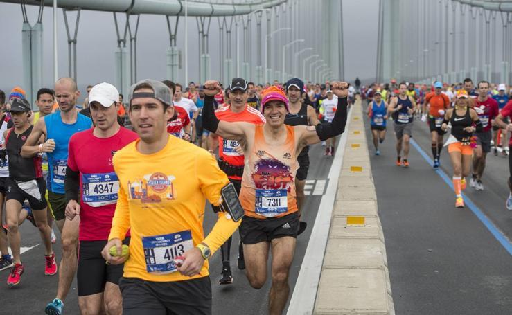 Fotos del Maratón de Nueva York 2017