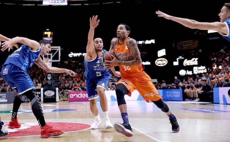 Fotos del Valencia Basket - San Pablo Burgos