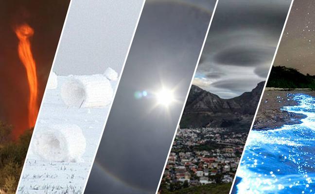 5 extraños y espectaculares fenómenos naturales que ocurren en la Tierra