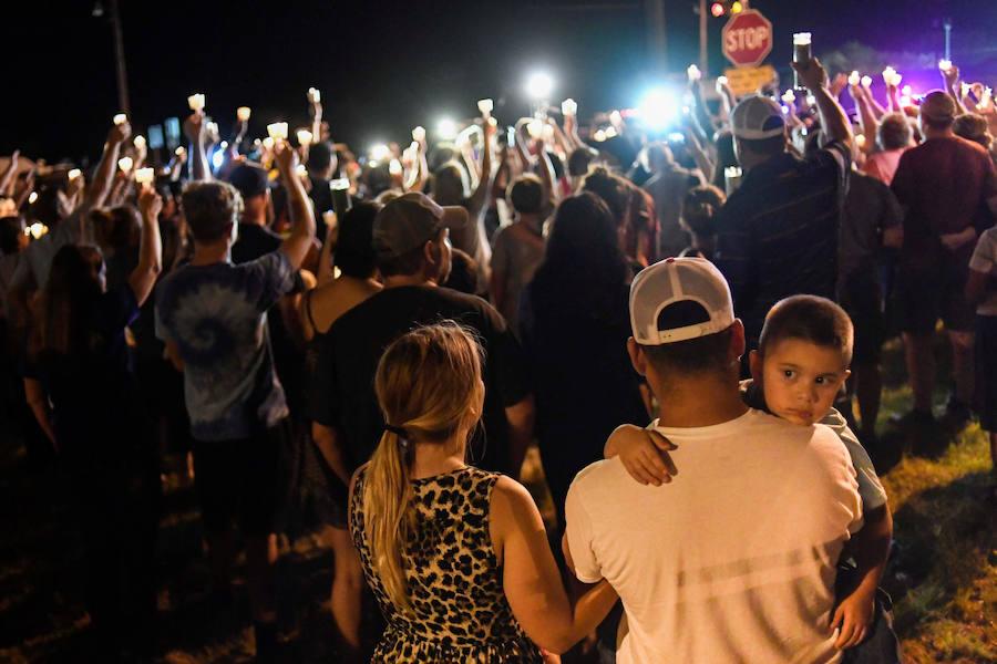 Fotos del tiroteo masivo en Texas