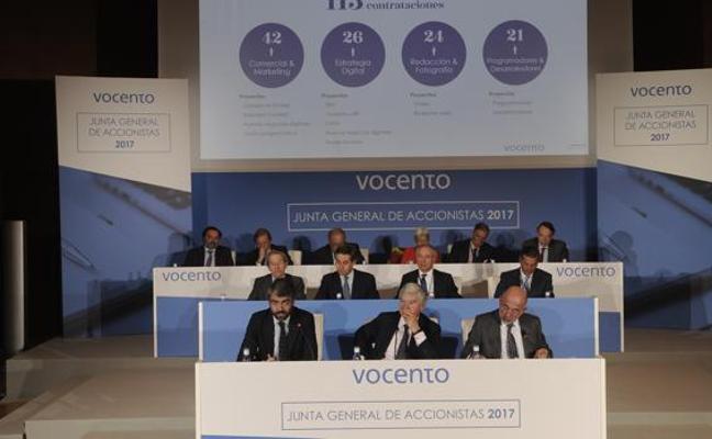 Vocento reduce sus pérdidas un 38% en los nueve primeros meses
