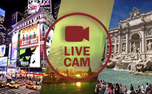Cámaras en vivo: visita lugares impresionantes del mundo desde el sofá