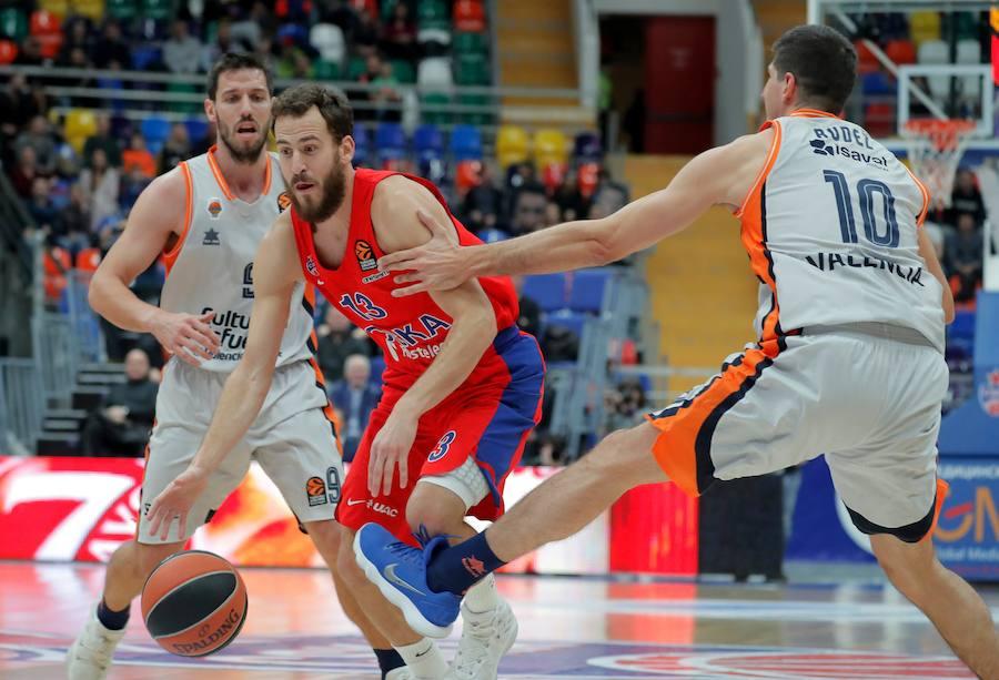 Fotos del CSKA Moscú - Valencia Basket