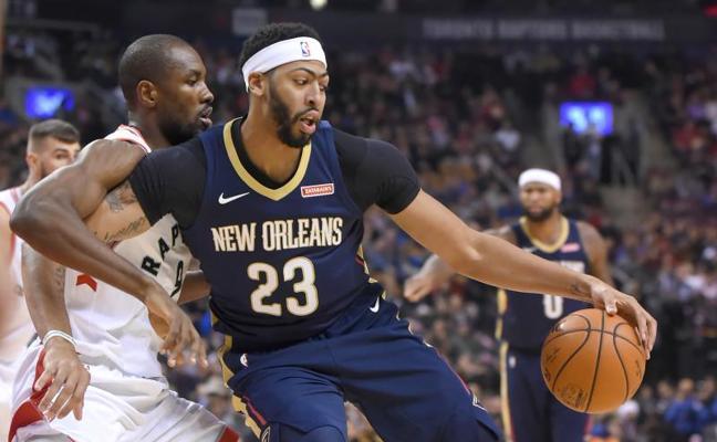 Ibaka impulsa a los Raptors ante los Pelicans