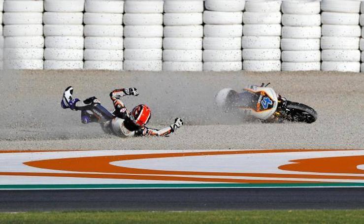 Fotos de los entrenamientos libres del Gran Premio de la Comunitat Valencia en Cheste