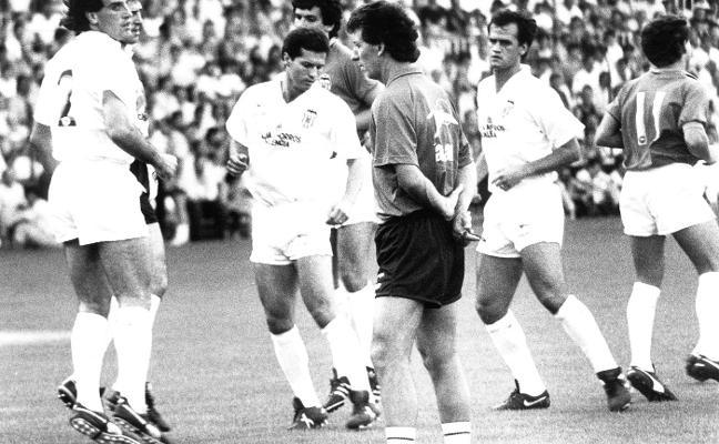 Víctor Espárrago y su Valencia de récord