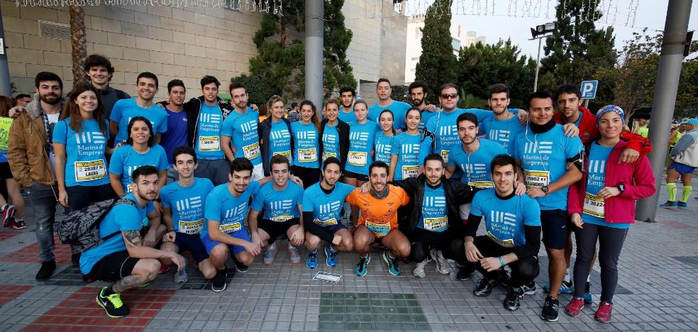 De Marina de Empresas a la meta del maratón