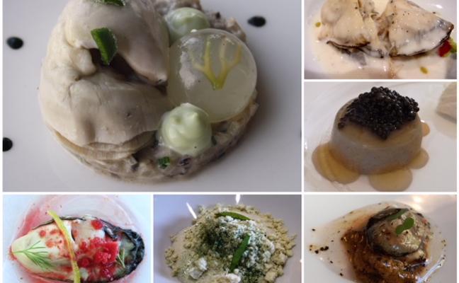 ¿Qué pueden hacer los chefs con una docena de ostras?