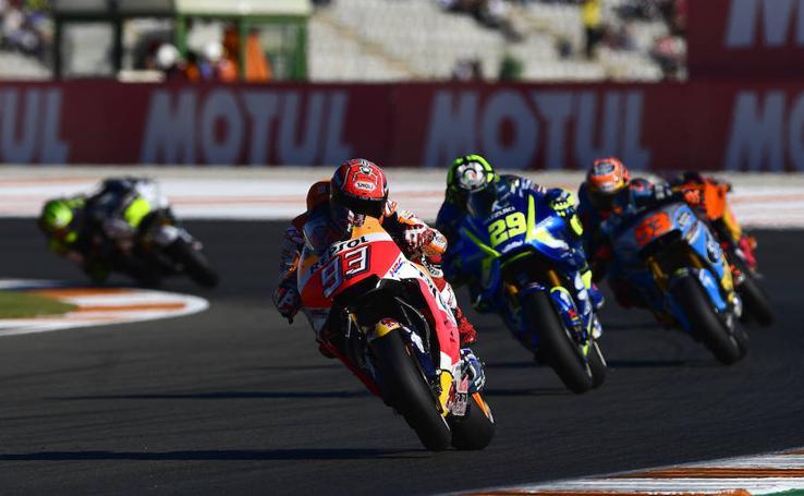 Fotos de la sesión del sábado del Gran Premio de Motociclismo de la Comunitat Valenciana