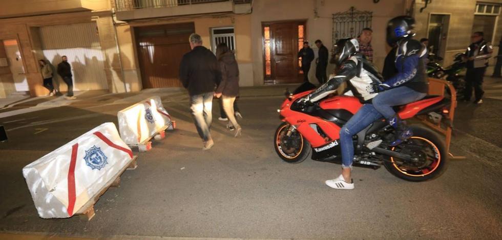 Muere un motorista en un accidente de madrugada en Chiva, en el fin de semana del Gran Premio de la Comunitat Valenciana