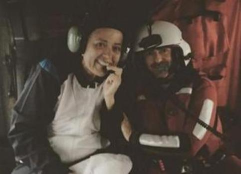 La regatista Sonia Mengod habla por primera vez tras ser rescatada el pasado octubre de aguas de Dénia