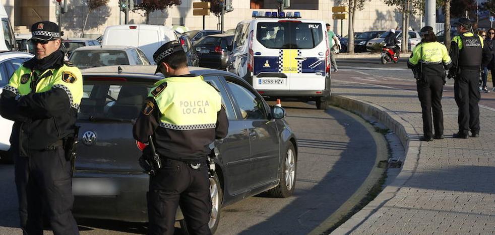 Impiden una carrera ilegal junto al cementerio municipal de Valencia